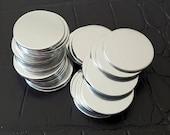 ALUMINUM Stamping Blanks -16 ga 1100 aluminum discs-Blank Metal Discs-Deburred-Metal Stamp Blanks-Hand stamping discs-Metal Stamping Blanks