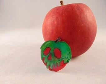 Poisoned Apple Brooch