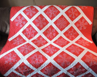 Snowflake Quilt, Quilts, Throws, Bedding, Home & Living