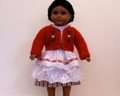 German Folk Costume for American Girl and Other 18 inch Dolls