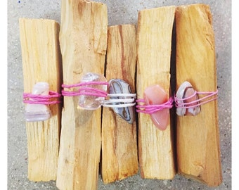 One piece of wrapped Palo Santo