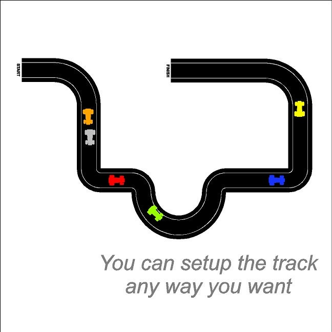 Car race track   Etsy