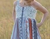 Girls Dress Pattern, Dress Sewing Pattern, Sundress Pattern, Little LIzard King, Matilda Jane Patterns, Sundancer Pattern