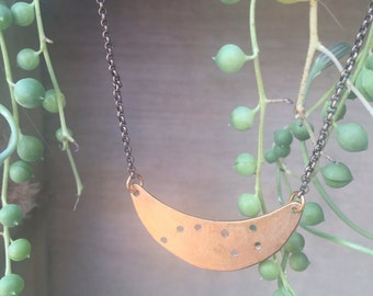 The Little Dipper Moon Necklace