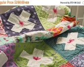 ON SALE X and O Quilt