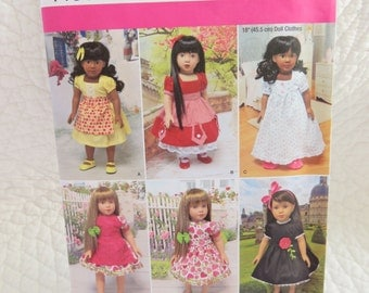 Simplicity Doll Pattern #1486