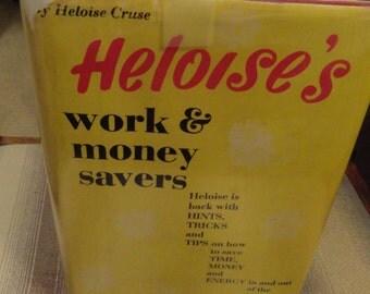 Vintage HOUSEKEEPING Book Heloise's Hints 1967 Work and MOney Savers