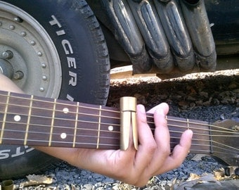 50 Caliber bullet shell guitar slide- Version 4