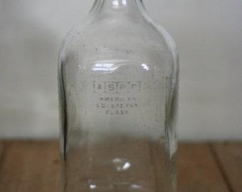vintage pyrex transfusion bottle