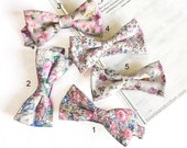 Reserved listing for Schantel Wilchcombe // Wedding Set of 5 Floral Men's Ties