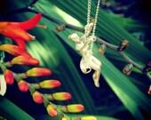 Swinging into Spring Girl pendant