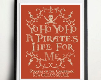 Pirates of the Caribbean - Yo Ho Yo Ho A Pirates Life For Me