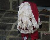 Red Handmade Santa Claus Doll