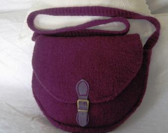 Saddle bag PDF knitting pattern