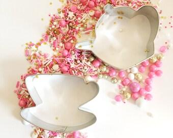 Tea Party Cookie Cutter Set - Teapot Cookie Cutter - Teacup Cookie Cutter