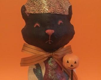 Halloween Black Cat Decoration