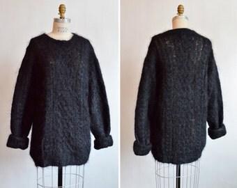 Vintage 1990s designer SWEATER dress