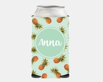 Can Cooler Bachelorette Party Favors Bridesmaid Gift Ideas Mint Pineapple Wedding Favors Wedding Can Coolers Party Favors Adult Can Hugger Z