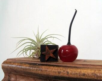 Letterpress Star Small Wood Type 5-Point Star Print Block