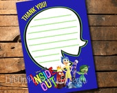 Inside Out Thank You Cards