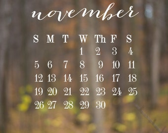 SALE 2017 Monthly Calendar PNG overlay template  for photographers 8x8in