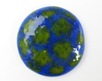 Norovirus Fused Glass Pin Brooch