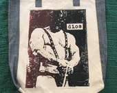 Handprinted Canvas Bag – Dios - Edition of 4