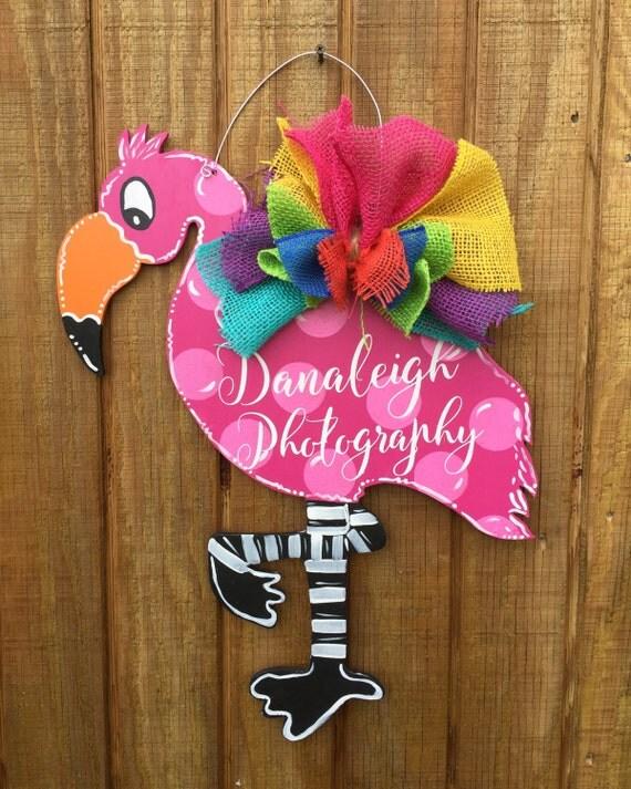 Items similar to Flamingo Large Yard Art Wood on Etsy