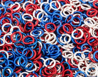 JUMP RINGS - 20-Gauge AWG Enameled Copper Jump Rings - Four Score Mix - 1 Ounce -  Pick Your Size!