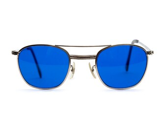 Vintage Deadstock American Optical Aviation Sunglasses - Cobalt