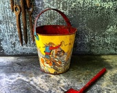 Cowboy Sand Pail / Ohio Art / 5""