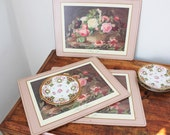 English Floral Placemats