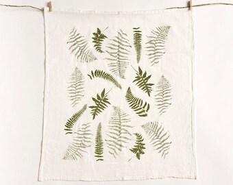 Fronds Flour Sack Kitchen Towel : Wild Ferns