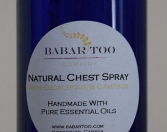 Natural Chest Spray