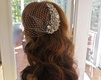 Romantic Bridal Accessory, Romantic Wedding Accessory, Romantic Bridal Jewelry, Romantic Wedding Jewelry, Romantic Bridal Headpiece
