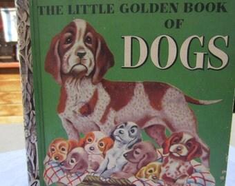 The Little Golden Book of Dogs - A  Little Golden Book 1950's