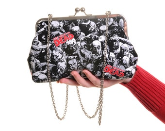 The Walking Dead Day Handbag and Clutch In One