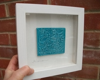 Ceramic woodland plaque  picture