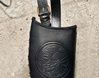 "A Bow Sheath ""Black Raven"""