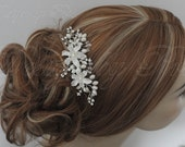 Bridal Accessories Wedding Hair Accessories Bridal Combs Bridal Rhinestones Crystals Pearls Swarovski Crystals Combs