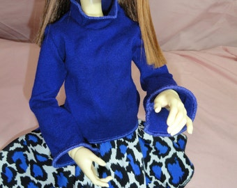 SD DOLLFIE BJD Sweater Royal Blue #1