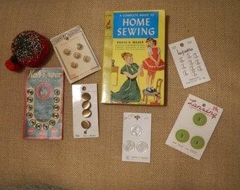 Vintage Sewing Notions Kit #1