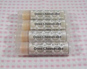 Lip Balm Oreo Cheesecake Lip Stuff, Handmade Lip Balm, Natural Lip Balm