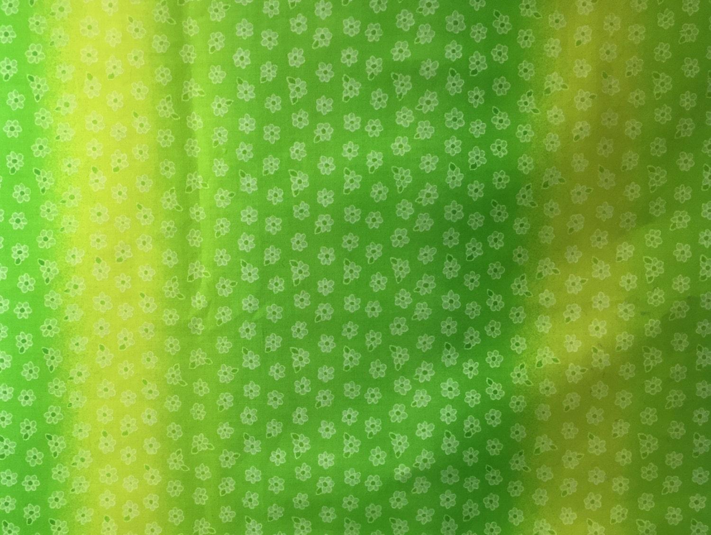 Green Mottled Fabric - Yellow and Green Mottled Print - Mottled ...