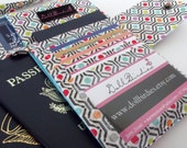 ADD ON a Credit Card Slot to Dollbirdies Boarding Pass and Family Size Passport Wallets