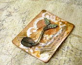 ACEO Original Mixed Media Art - Sprout Free