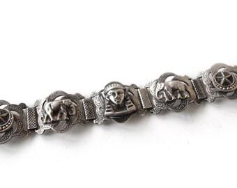 Vintage North African Link Bracelet c.1960s
