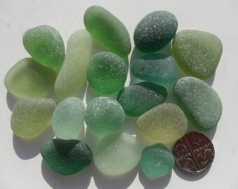 Beautiful English Seaham Sea Glass - Free Shipping (4659)
