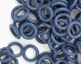 Rubber Rings: Dark Navy Blue, 7mm, #1098