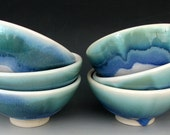SMALL CERAMIC BOWL - Small Cereal Bowl - Dessert Bowl - Ice Cream Bowl - Soup Bowl - Sauce Bowl - Custard Bowl